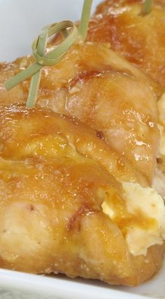 Chicken You Won't Believe Recipe ~ with Dijon Mustard, Brown Sugar and Cream Cheese