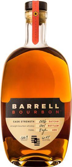 Barrell Cask Strength Straight Bourbon Whiskey Batch #006 | @Caskers