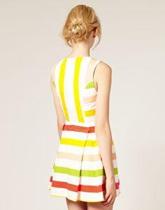 Stripes $82.09 #dress #stripes