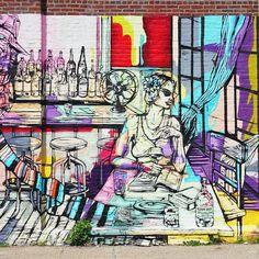 Red Hook wall art #onassignment #photojournalist #journalism #street #travel #exploreeverything #travelphotography #storytelling #documentaryphotography #streetphoto #instatravel #wanderlust #travelgram #explore #trip #traveling #roadtrip #redhook #nyc #newyork #brooklyn #newyorkcity #danmleephotography #ny #tlpicks #what_i_saw_in_nyc #streetphotography #newyork_instagram #sonyimages #nyphotographer