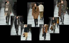 The Dandy Aviator: Fendi Men's Fall/Winter 2015