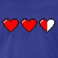 2.5 of 3 Pixel Hearts