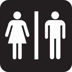 Bathroom Signs Walmart all gender bathroom - neutral transgender transexual restroom sign