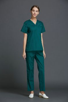 >> Click to Buy << Korea Style V-neck Men/Women Medical Scrub Sets Hospital Doctors Nurses Uniform Beauty Salon Dental Clinic Workwear Overalls  #Affiliate