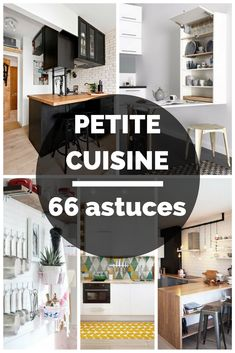 66 astuces pour aménager une petite cuisine et gagner de la place