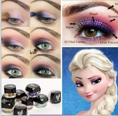 Do you have someone that is going to be Elsa for Halloween? You can get the look of Elsas eyes with our younique products. www.3dlashesbyrobyn.com