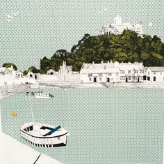 Contemporary Fine Art Images of historic Cornwall by Clare Halifax