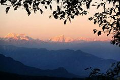 View of The Himalaya from Chisopani