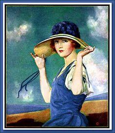 Penrhyn Stanlaws (Penrhyn Stanley Adamson) [American illustrator & filmmaker 1877-1957]