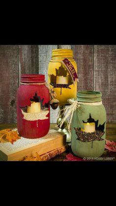 Art gala jars