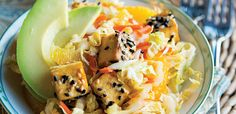 Reminiscent of stir-fry (without standing over a hot stove), this make-ahead slaw will satisfy your takeout cravings. To round out the meal, serve with chewy brown rice and miso soup. …
