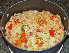 Cook Up Rice -jamaican Jamaican Rice, Jamaican Cuisine, Jamaican Dishes, Jamaican Recipes, Seasoned Rice Recipes, Indian Food Recipes, Vegetarian Recipes, Cooking Recipes, Rice