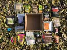 GGG Fall Food Box! – Garage Grown Gear Food Box, Thru Hiking, Quinoa Bowl, Backpacking Food, Fall Food, Spring Recipes, Recipe Box, Garage, Product Launch
