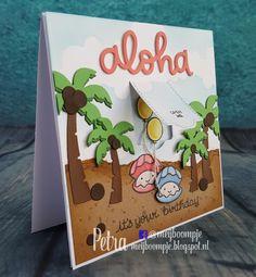 Meijboompjes Creatieve Creaties: Aloha it's your birthday