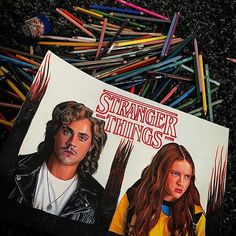 Take two on s Billy & Max. Only four drawings more to go! Take two on s Billy & Max. Only four drawings more to go! Stranger Things Funny, Stranger Things Season, Dacre Montgomery, Sadie Sink, Side Tattoos, Shows On Netflix, Tattoo Drawings, Tv Shows, Fan Art