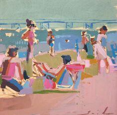 More Teil Duncan Art Love / Beach Series / The English Room