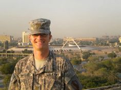Wallen in Iraq in 2012. He is a Lt Colonel in the US Army, and PhD candidate at Mines.