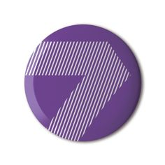 ❤️ #BBOTD Stereohype #button #badge of the day by Jack Curry https://www.stereohype.com/707__jack-curry #roygbiv #7 #typography