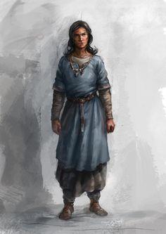 female medieval clothes by Skvor.deviantart.com on @DeviantArt