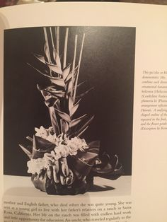 Pu'olo - Wedding floral piece. Could be a cool concept to use at sweetheart table.