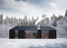 Tind prefabricated house concept by Claesson Koivisto Rune