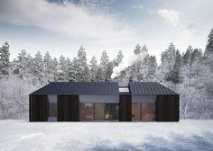 プレハブハウス「Tind」はストックホルムのデザインユニットであるClaesson Koivisto Rune が設計