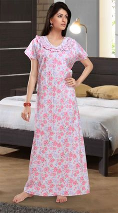 690e58975da Nighty is very comfortable outfits for girls and women. If you are really  interested in nighty dresses so