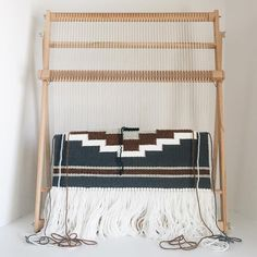 Weaving is very meditative and relaxing, it's what I look forward to at the end of every day. I stayed up late last night working on this…
