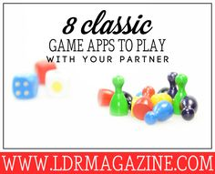 8 Classic Game Apps to Play with your Partner