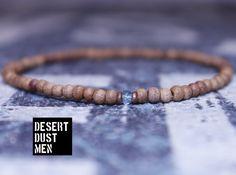 Mens sandal bracelet, Sandal bracelet, Sky blue apatite, Apatite bracelet, Mens apatite, Apatite by DESERTDUSTMEN on Etsy