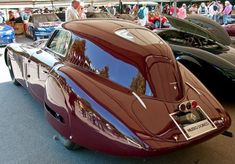 1938 Alfa Romeo 8C 2900B Superleggera 'Le Mans Coupe' #alfaromeovintage