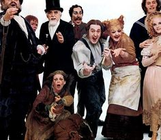 The original Broadway cast of Sweeney Todd starring Angela Lansbury and Len Cariou. (1979)