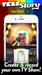 Great Fun App - TeleStory #TechEd #EdTech #Apps #STEAM #Acting #TV