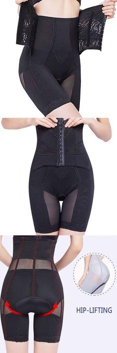 6eab0e3ffd0 High Waisted Front Closure Perfect Shape Tummy Slimming Shapewear