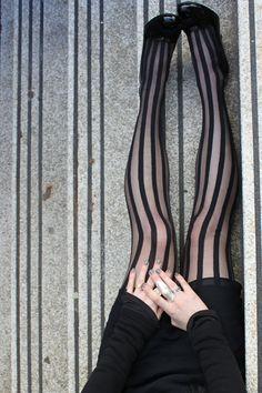 stripy tights