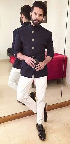 Sleek and understated engagement suit for man, engagement dresses, indian engagement outfit, blazer Mens Indian Wear, Mens Ethnic Wear, Indian Groom Wear, Indian Men Fashion, Indian Man, Mens Fashion Suits, Indian Suits, Indian Ethnic Wear, Fashion Pants