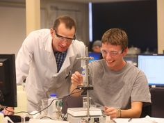 California University chemistry and physics majors can prepare for careers in industry or teaching.