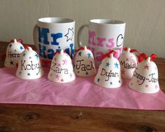 Mr and mrs mugs - The Supermums Craft Fair