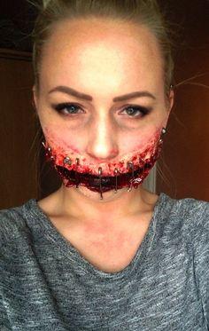 Halloween spfx makeup by me. Sfx special effects makeup artist sfx makeup