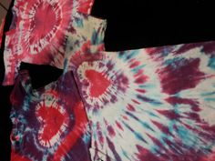Valentines+Day+tie+dye+by+LexisGreenBotique+on+Etsy,+$10.00