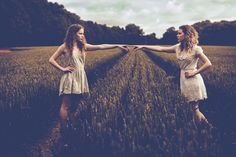 """The first point of contact. - Another shot from my """"twin"""" project Model are…"""