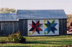 this grass roots art movement began in 2001 and has spread to 16 states and 900 barns, adopted by rural communities as a way to honor the craft of quilt making and farming expressed through public art.