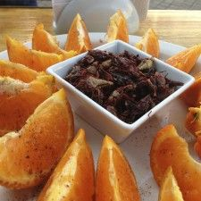 Fried grasshoppers, or chapulines, from Al Andar restaurant in Centro.