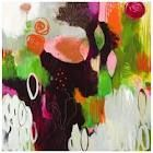 <3 Flora Bowley paintings.  How on earth does she get this effect?