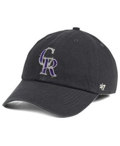 '47 Brand Colorado Rockies Twilight Franchise Cap - Gray XL