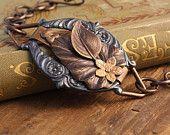 Architectural Foliage - Artisan Hand Rendered Bracelet