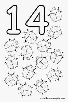 Number 12 Coloring Page Luxury 16 Best Of Number 14 Worksheets for Preschool Preschool Number Worksheets, Flashcards For Kids, Numbers Kindergarten, Numbers Preschool, Preschool Lessons, Kindergarten Worksheets, Free Printable Numbers, Number 14, Numbers For Kids