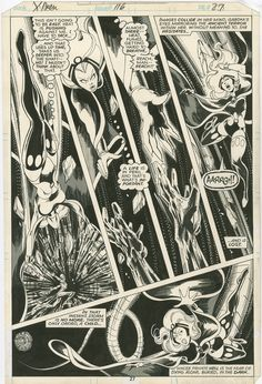 Original Comic Art titled Uncanny X-Men int. page by John Byrne and Terry Austin, located in Jeremy's John Byrne Comic Art Gallery