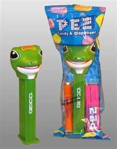 geico gecko pez dispenser