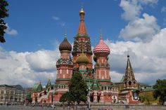 Basil's Cathedral can be considerate as a nice place to visit which located at one end of Red Square, Moscow.